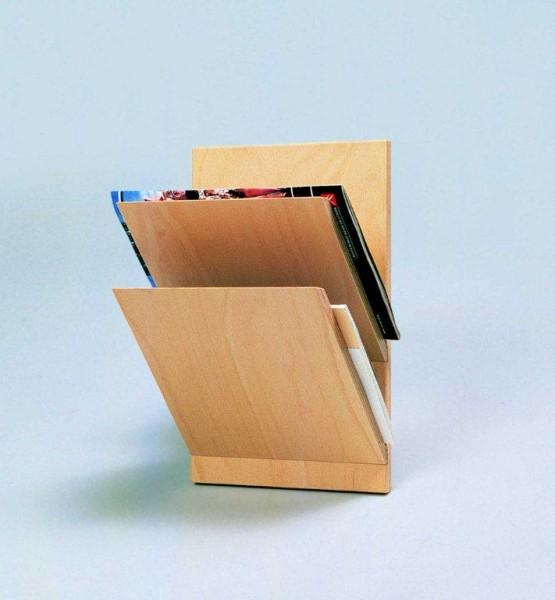 Wandzeitschriftenhalter 2-Fach