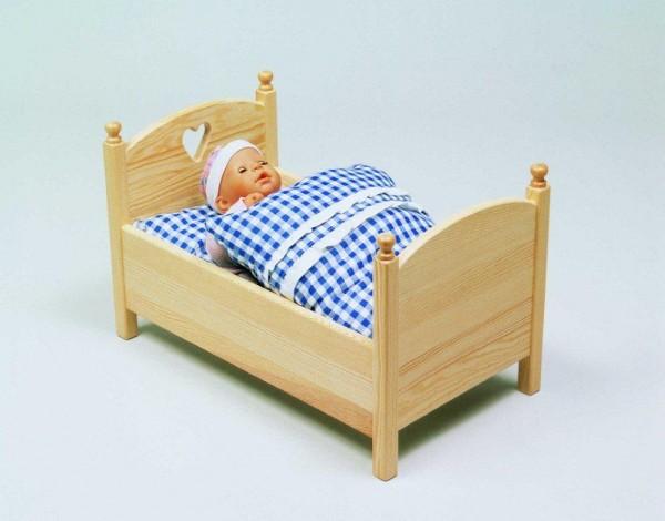 Zubehör für Puppenbett und Puppenwiege