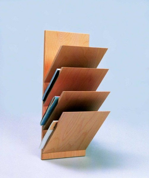 Wandzeitschriftenhalter 4-Fach